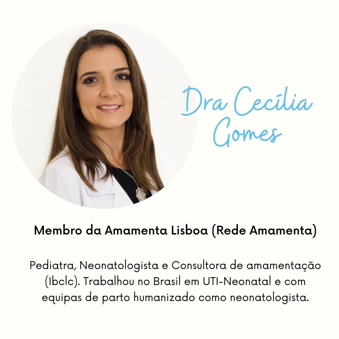 Palestrante CPAMO Dra. Cecília Gomes